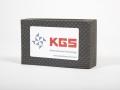 T009 - black diamond coated hand pad for edge arrising - 120 mesh