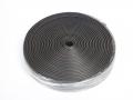 YRUBRR45 - 45mm ribbed cushioning rubber - 10 meter roll