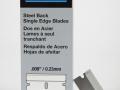 A3272 - Personna single edge blades