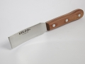 T126 - Bohle curved blade putty knife 26mm wide - timber handle