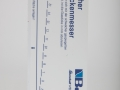 T151 - Bohle plastic thickness gauge