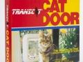 ACD1 - Transcat cat door - square type - white