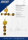 XV4RI, 4 Inline Vacuum Lifter