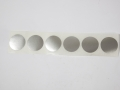 SAS40 - Safety decal - solid silver circles - 30cm long