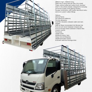 BGE, Z 800-2655 Glazing Truck - Spec Sheet